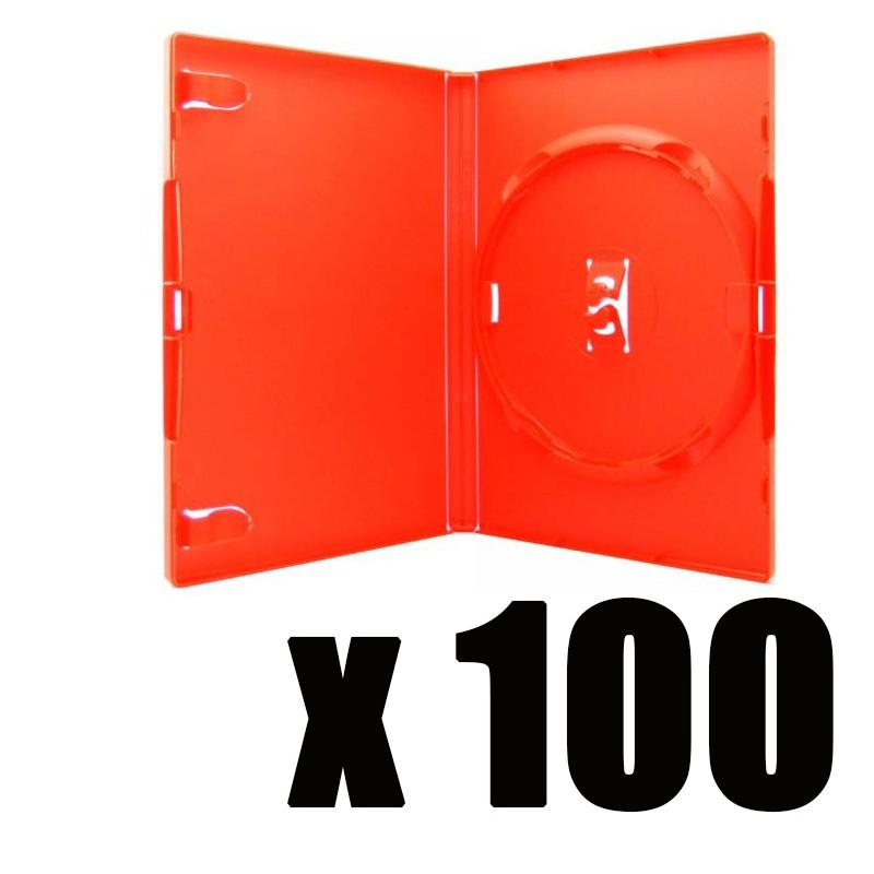 boite rouge pour 1 dvd. Black Bedroom Furniture Sets. Home Design Ideas